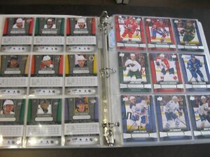 2013-14 Upper Deck Overtime et Rookie Profiles sets complets