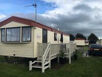 Caravan to rent Lyons Robin Hood site north wales Rhyl