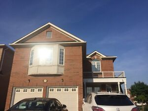 4 bedrooms + finished basement - square one- RENT MISSISSAUGA