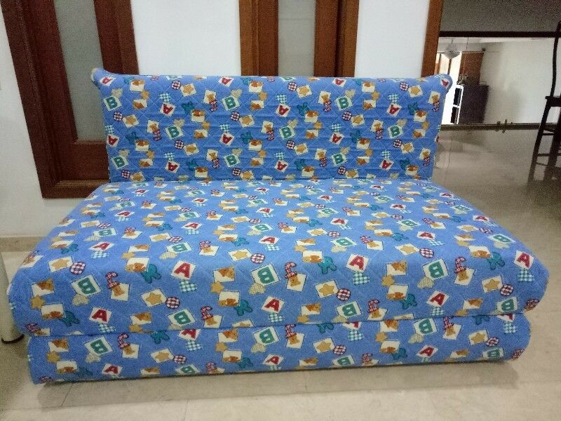 1 Year old 4 ft (Sea Horse) Sofa bed with 2 sets of cover for sale