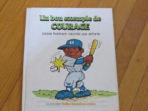 JACKIE ROBINSON **//COURAGE /littérature jeunesse sport
