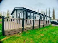 LUXURY LODGE FOR SALE WITH LAKE VIEW ON BILLING AQUADROME CALL 07955825040