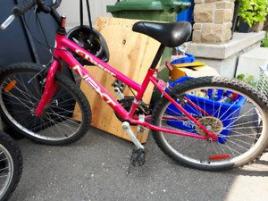 Free bikes snow thrower and small rabit hutch