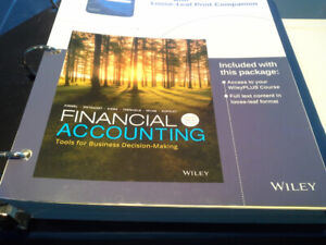Financial Accounting looseleaf text