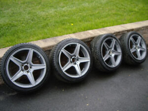 Mercedes/Audi mags and wimter tires