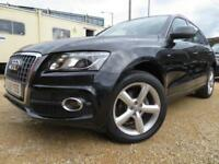 Audi Q5 2.0TDI ( 170ps ) quattro S Line+F/S/H+NAV+LEATHER+2 OWNERS+