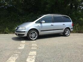 2004 04 VOLKSWAGEN SHARAN 1.9 TDI 130 6 SPEED 1 OWNER FROM NEW 7 SEATER