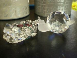 "Swarovski Crystal Figurines -"" Large Snail "" and "" Kris Bear "" Kitchener / Waterloo Kitchener Area image 8"