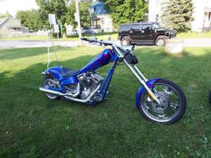 Chopper de marque american iron horse