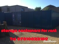 20ft x 8ft secure self storage container FOR RENT in ELGIN