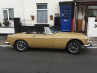 1974 Tax Exempt MGB Roadster