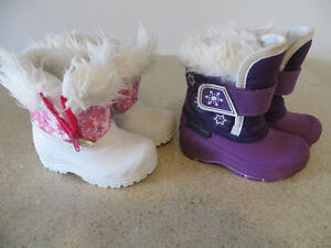 toddler snow boots and more size 4-6.5 Kitchener / Waterloo Kitchener Area image 1