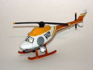 Disney Pixar Cars 1/55 Ron Hover News Helicopter Diecast