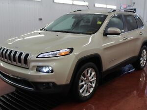 2015 Jeep Cherokee Limited  - Leather Seats -  Bluetooth - $195.