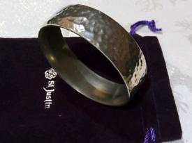 Silver type bracelet