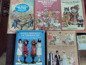 New Books - Reproduction Vintage Paper Dolls