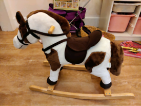 Soft Rocking horse with sound effects