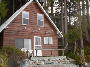 Powell River Waterfront Cabin and Shop