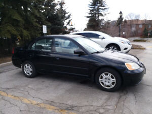 2002 Honda Civic DX-G Sedan (5spd manual) Carlaw/Dundas