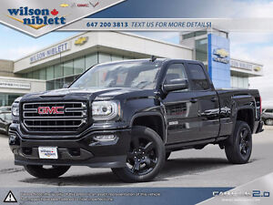 2017 GMC Sierra 1500 Elevation Edition Double Cab- Brand New!