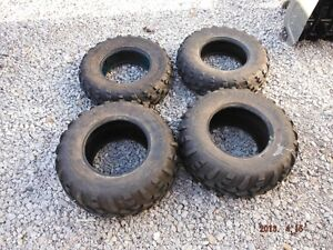2 sets of 4  Carlisle side by side tires