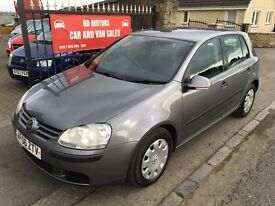 2006 VW GOLF 1.9 TDI S, 1 YEAR MOT, SERVICE HISTORY, WARRANTY,