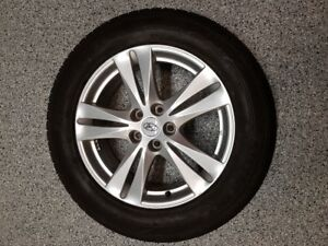 Aluminium Rims & Winter Tires
