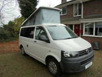 2012 Volkswagen T28 T5 Campervan 4 berth pop top roof for sale