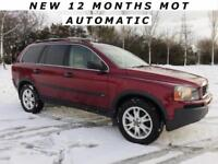 VOLVO XC90 2.4 D5 S.E *** 7 SEATER & 4WD ** 1 OWNER & FVSH ** CHEAP TAX