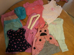baby girls 6-24 month clothing