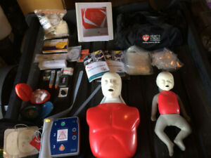CPR MANIKINS AND INSTRUCTOR EQUIPMENT
