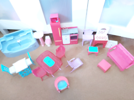 Barbie dolls furniture