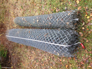 fence 8 ft high galvanized PRICE LOWERED