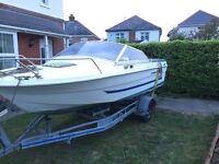 Oldenburg sport boat 17ft (project) 60hp mercury
