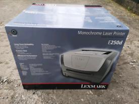 Lexmark E250 D printer brand new