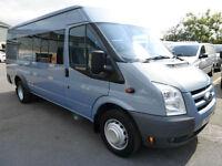 2009 Ford Transit T430 TREND 100ps XLWB 17 seat Minibus, VERY LOW MILES, SUPERB