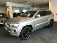 2016 Jeep Grand Cherokee 3.0 V6 CRD OVERLAND 5d 247 BHP Estate Diesel Automatic