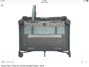 Graco Pack Play On The Go Portable Playard/parc a bebe playpen