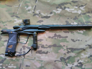 Planet eclipse csl ego paintball marker + air tanks and hopper