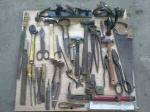 Antique and Vintage Tool Lot