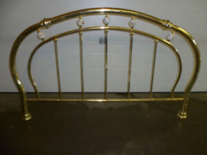 Vintage Style Brass Headboard for Queen sized  Bed