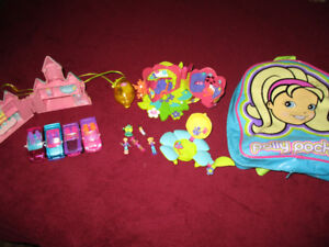 Polly Pocket dolls and accessories vintage