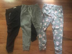 Three pair of Girls Sweats