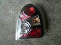 corsa b front and rear lights