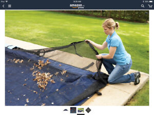 Pool Leaf Net 24 x 32 feet $50 - Like Brand New
