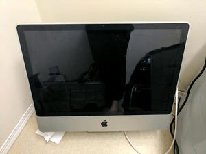 """24"""" 2008 Apple iMac all in one 2GB RAM 320GB HDD"""