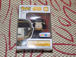 FUNKO, POP, DRYDEN GANGSTER, TOYS R US EXCLUSIVE STAR WARS #254