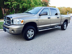 2007 DODGE RAM 1500 MEGA CAB 4X4 LEATHER, IMMACULATE CONDITION