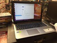 Asus K501U Intel i7-6500U 12GB RAM 512GB SSD NVidia 940mx Gaming Laptop