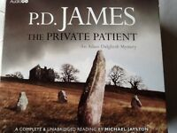 PD JAMES THE PRIVATE PATIENT FOR MYSTERY CRIME LOVERS
